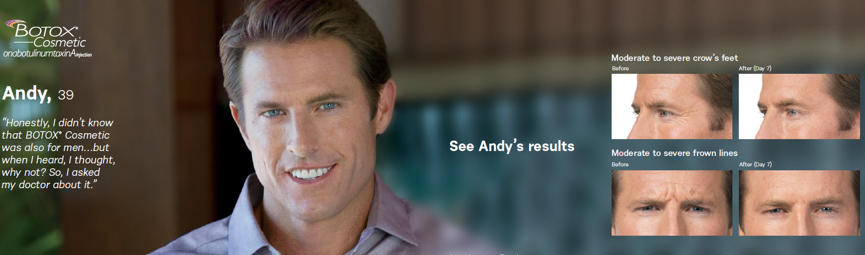 Andy Botox for Men extended